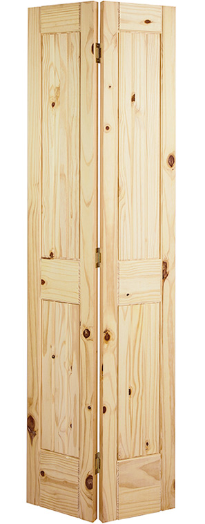 V-Groove Square Top Bifold  sc 1 st  Summit Building Products & Knotty Pine Doors