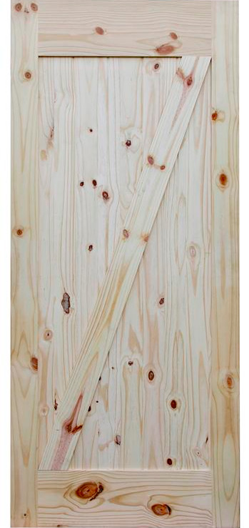 Knotty Pine Barn Doors 7/0  sc 1 st  Summit Building Products : z door - pezcame.com